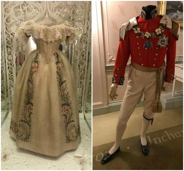 Guarda roupa da rainha vitória